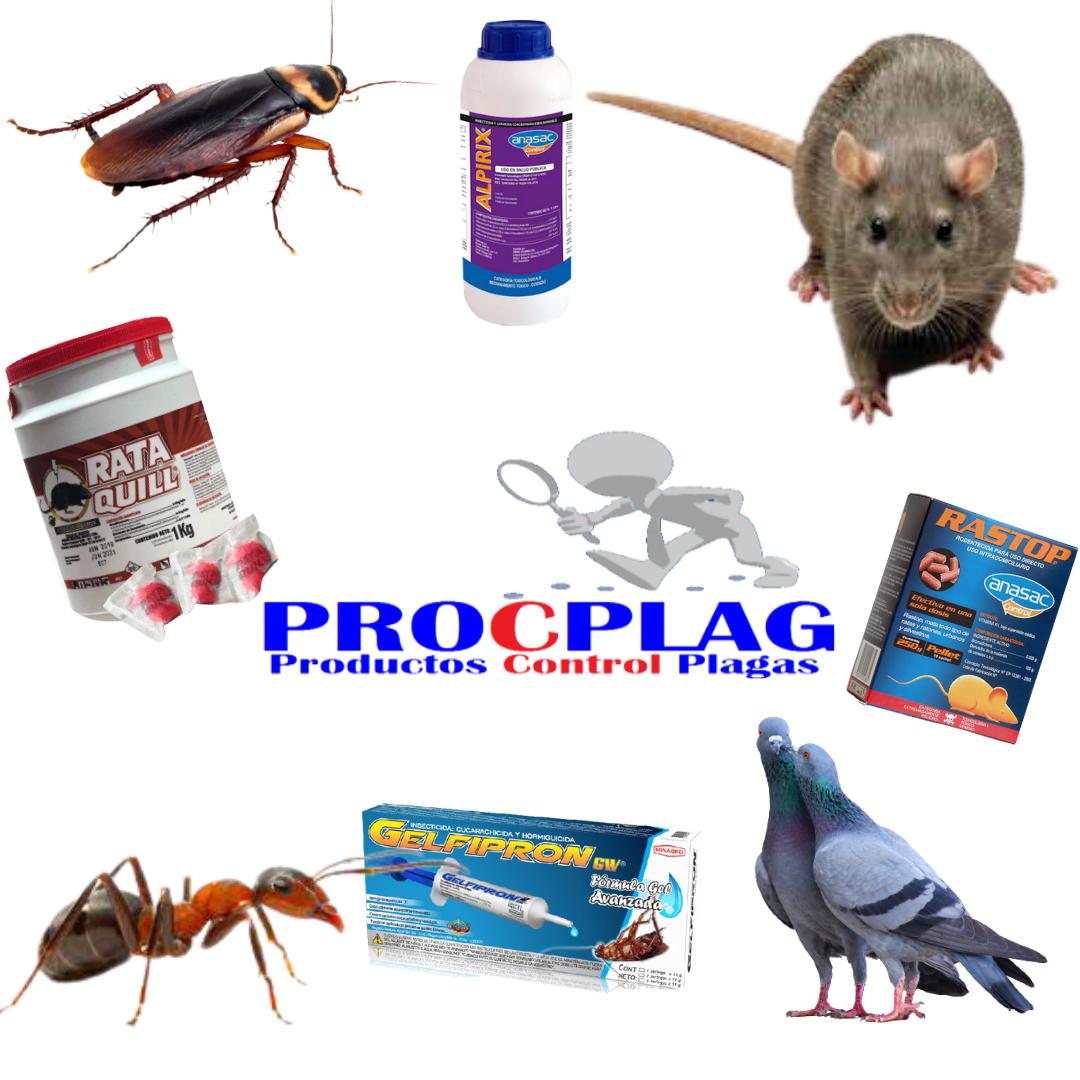 Productos e insectos